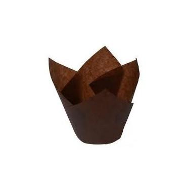Cápsulas muffins marrones