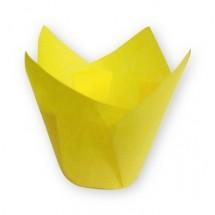 Cápsulas muffins amarillas