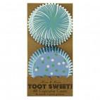 48 Cápsulas verdes/azules Toot Sweet