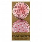 48 Cápsulas rosa/rojo Toot Sweet