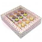 Caja 24 mini cupcakes
