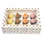 Caja 12 mini cupcakes