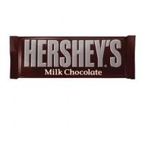 Hershey's chocolatina chocolate con leche