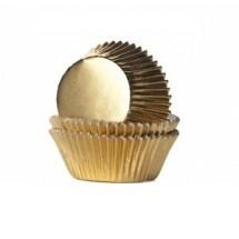 Cápsulas metalizadas oro