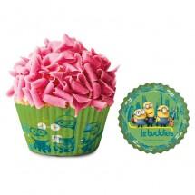 Cápsulas cupcake Minions
