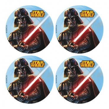 Obleas Darth Vader 4,5 cm