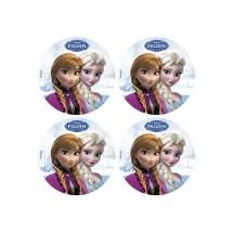 Obleas Frozen 4,5 cm