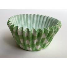 Cápsulas mini cupcakes vichy verde