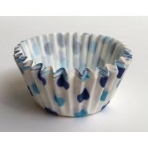 Cápsulas mini cupcakes lunares azules