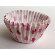 Cápsulas mini cupcakes lunares rosas