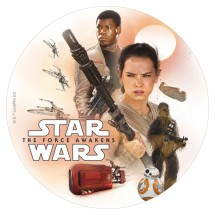 Oblea Star Wars 20 cm