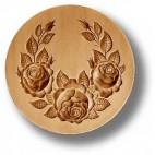 Springerle Broche 3 rosas Shabby Chic