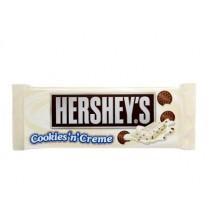 Hersheys chocolatina con cookies y nata