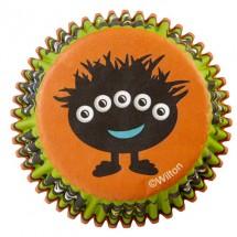 Cápsulas cupcakes Ojos Halloween