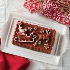 Santa's Sleigh Loaf Pan
