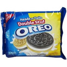 Oreos Heads or Tails Double Stuf