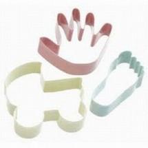 sdi set de 3 cortadores bebe