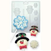 Molde chocolate y caramelo Navidad