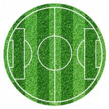 Oblea campo de fútbol 20cm