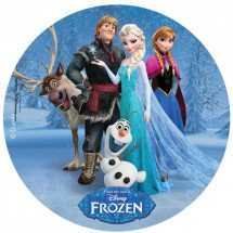 Oblea Frozen personajes 20cm