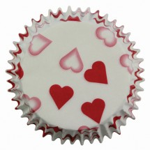 Cápsulas pequeños corazones PME
