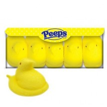 Peeps Marshmallows pollitos amarillos