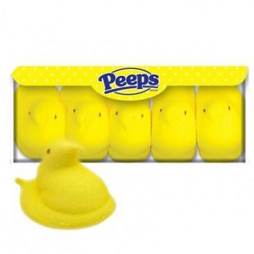 Peeps Marshmallows pollitos amarillos