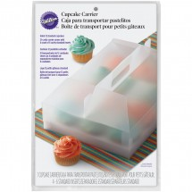 Transportador 12 cupcakes reutilizable