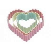 sdi set de 3 cortadores corazones