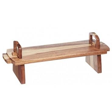 Tabla de presentación de madera Artesa
