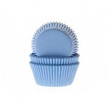 Cápsulas de color azul claro
