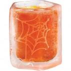 Molde vaso de chupito tela de araña