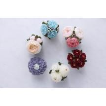 Cupcakes de flores 11/11 - Sweet Moses