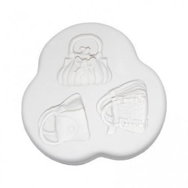 Molde de silicona bolsos 1