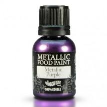 rd pintural comestible metalizada morada