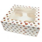 Caja 4 cupcakes