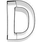 Cortador letra D