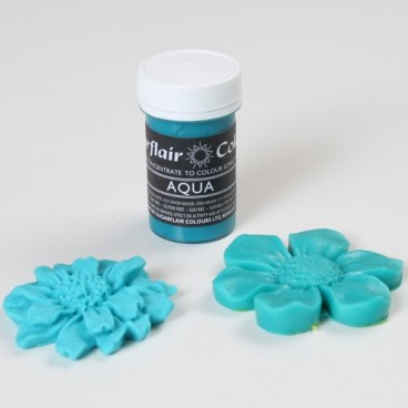 Sugarflair. Colorante en pasta Aqua Pastel