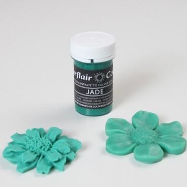 Sugarflair. Colorante en pasta Jade Pastel