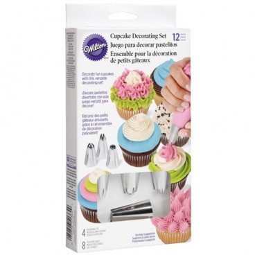 Kit decoración Cupcakes Wilton