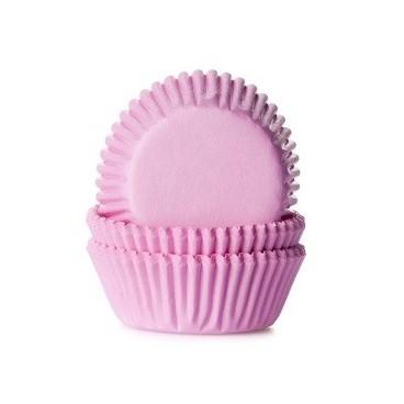 Cápsulas mini cupcakes rosas