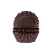 Cápsulas mini cupcakes marrones