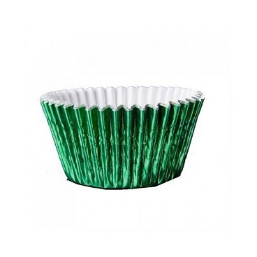 Cápsulas metalizadas verdes