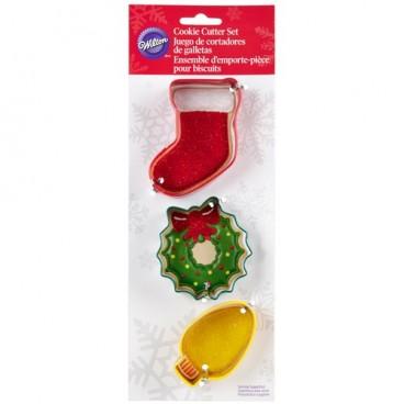 Set cortadores decoración navideña