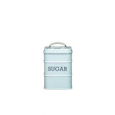 Lata para azúcar azul
