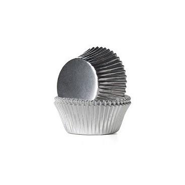 Cápsulas metalizadas plata