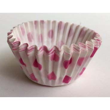 Cápsulas cupcakes lunares rosas