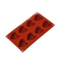 Molde de silicona corazón