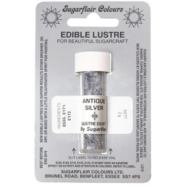 Seda comestible Antique Silver