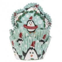 Cápsulas cupcakes tulipa pingüino